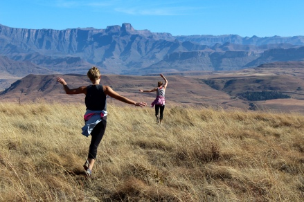 Frolicking the Northern Drakensberg