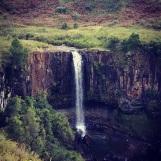 Waterfall in central Drakensberg